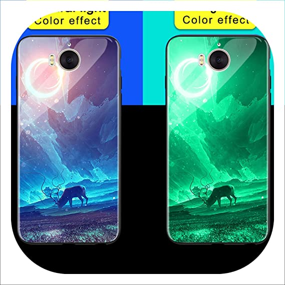Amazon com: Luminous Phone Cases for Huawei Y5 Y6 Y9 2018 Space