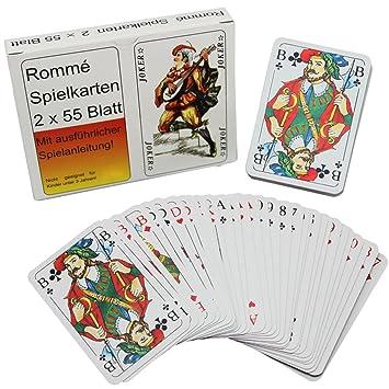 2 x Skatkarten Deck mit 32 Blatt Karten Spielkarten Skat Französisches Blatt