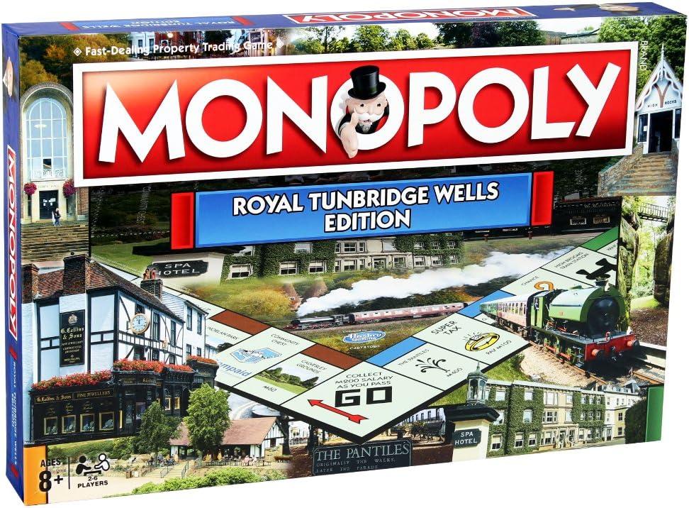 Juegos de Mesa Regional Monopoly (Idioma español no garantizado): Amazon.es: Juguetes y juegos