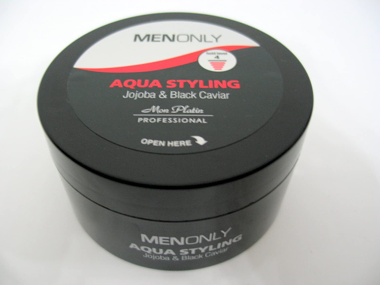 Mon Platin Black Caviar Hair Wax 9.5 Oz (280ml) Professional Strong Aqua Styling Jojoba by Mon Platin