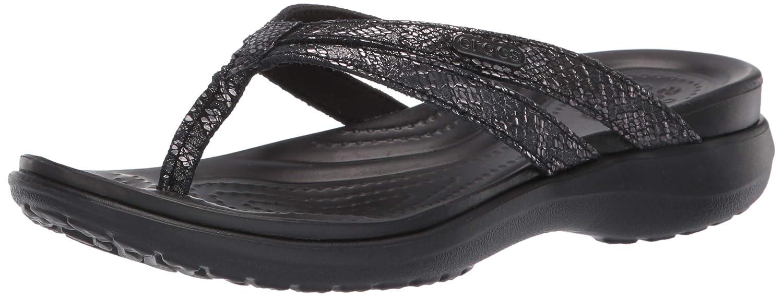 94954c8418e Amazon.com | Crocs Women's Capri Strappy Flip Flop | Flip-Flops