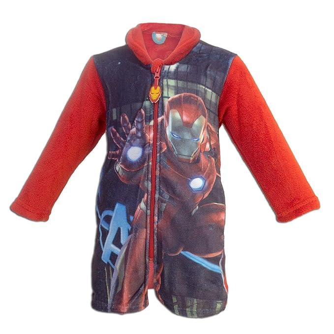 Super Heroes Marvel Avengers - Bata Batin - para niño - 1312HR [Rojo Iron Man
