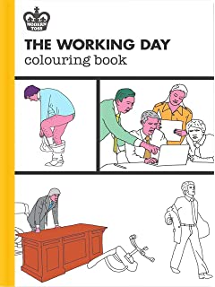 The Working Day Colouring Book Modern Toss Books