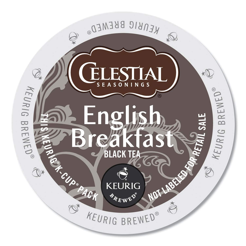 Celestial Seasonings English Breakfast Tea Keurig Single-Serve K-Cup Pods, 96 Count