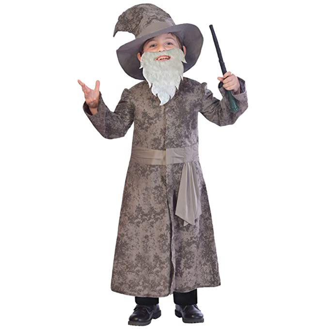 Amscan Weiser Mago – Gandalf Dumbledore Disfraz infantil niño