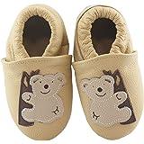 SmileBaby Chaussons en peau de mouton pour bébé