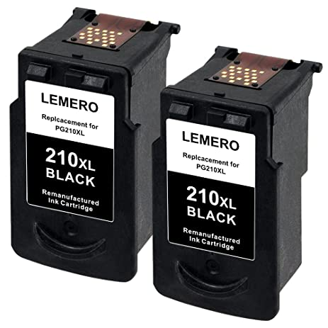 Lemero Remanufactured Ink Cartridge Replacement For PG 210XL 2973B001 Compatible With PIXMA