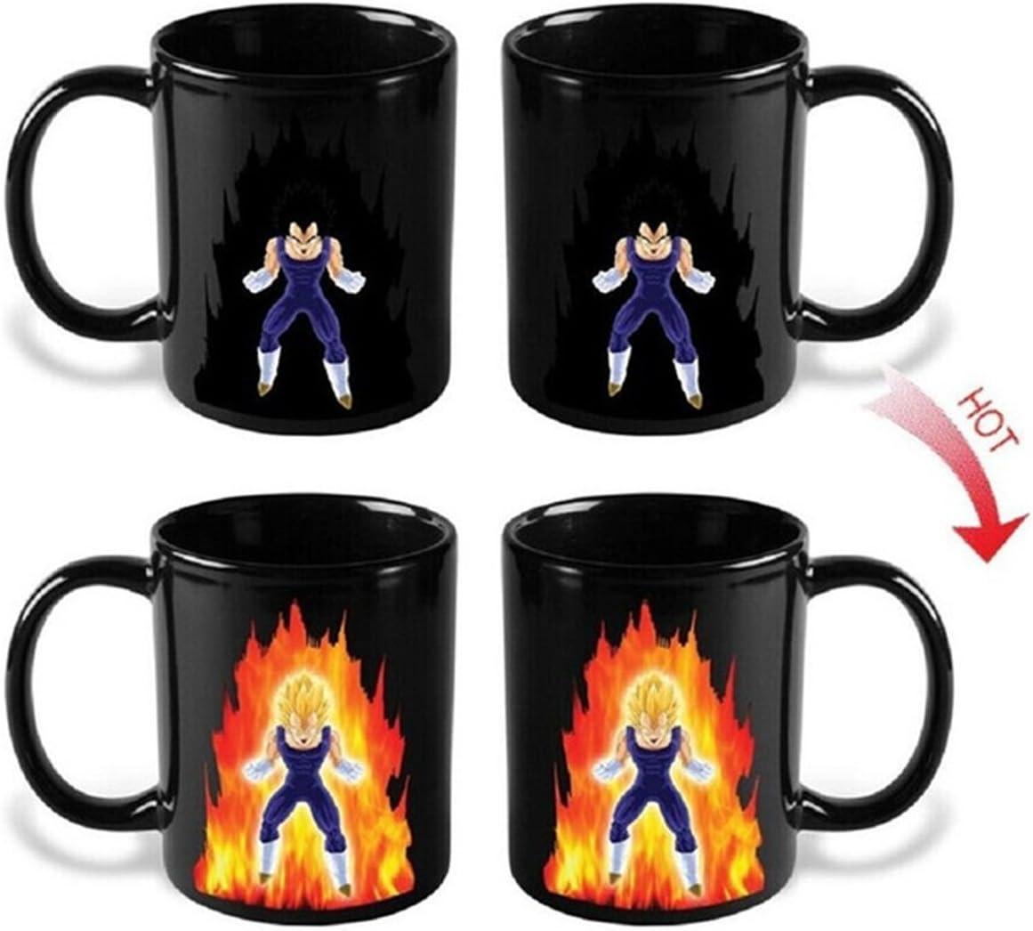 Heat Reactive Vegeta-Inspired Mug by Mugmug