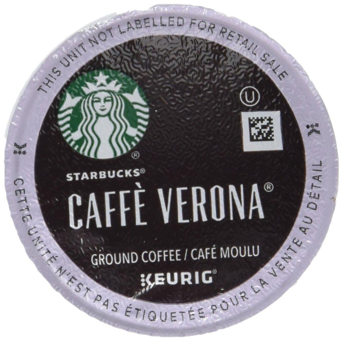 STARBUCKS CAFE VERONA BLEND 96 K CUPS by Starbucks
