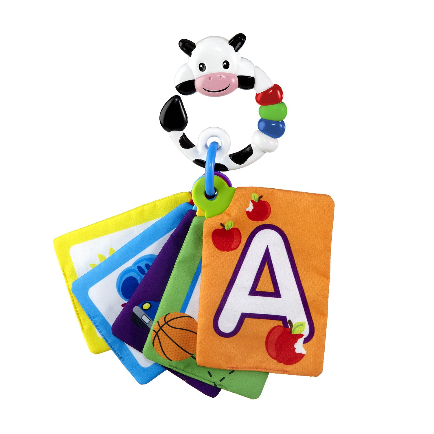 Baby Einstein Animal Discovery Traditional Flashcards, Cow Toy Babies