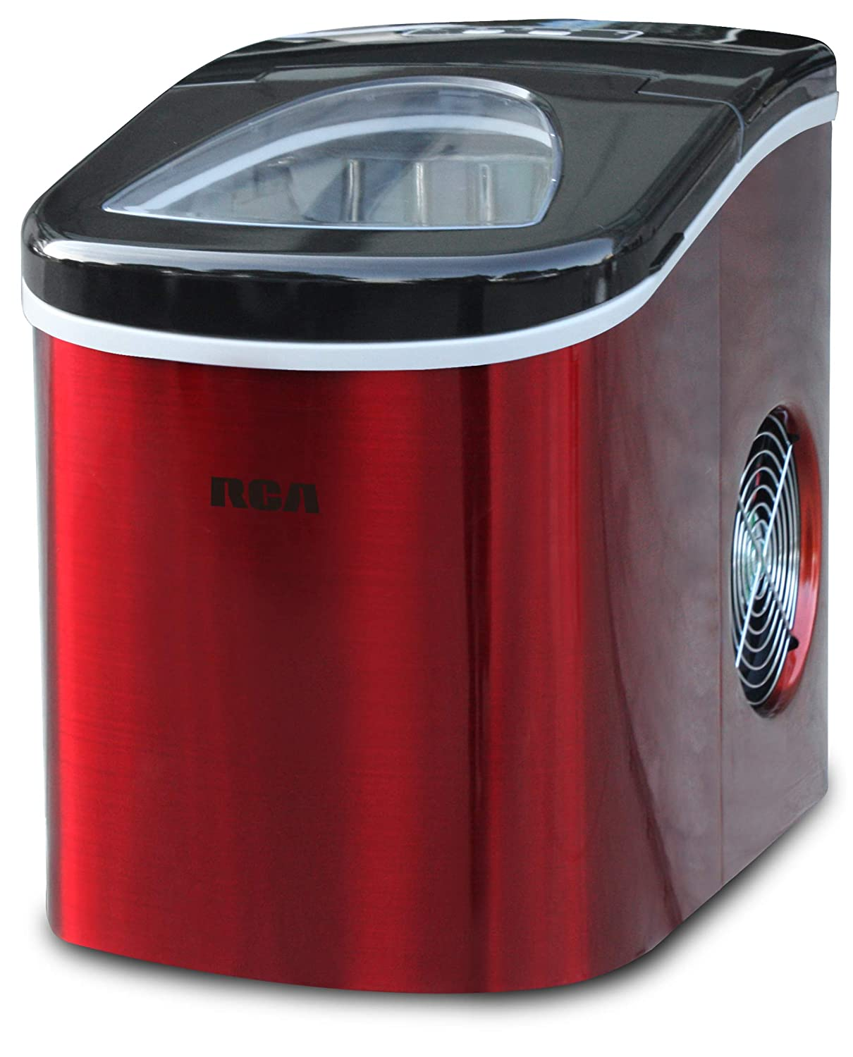 Frigidaire RIC117-SSRED Stainless Steel Ice Maker Medium Red S/S