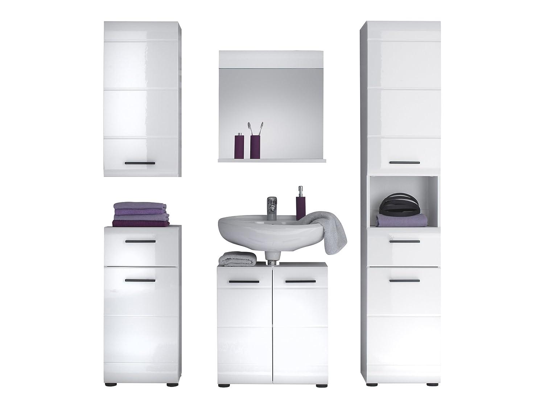 trendteam Badezimmer 5-teilige Set Kombination Skin Gloss, 170 x 182 ...