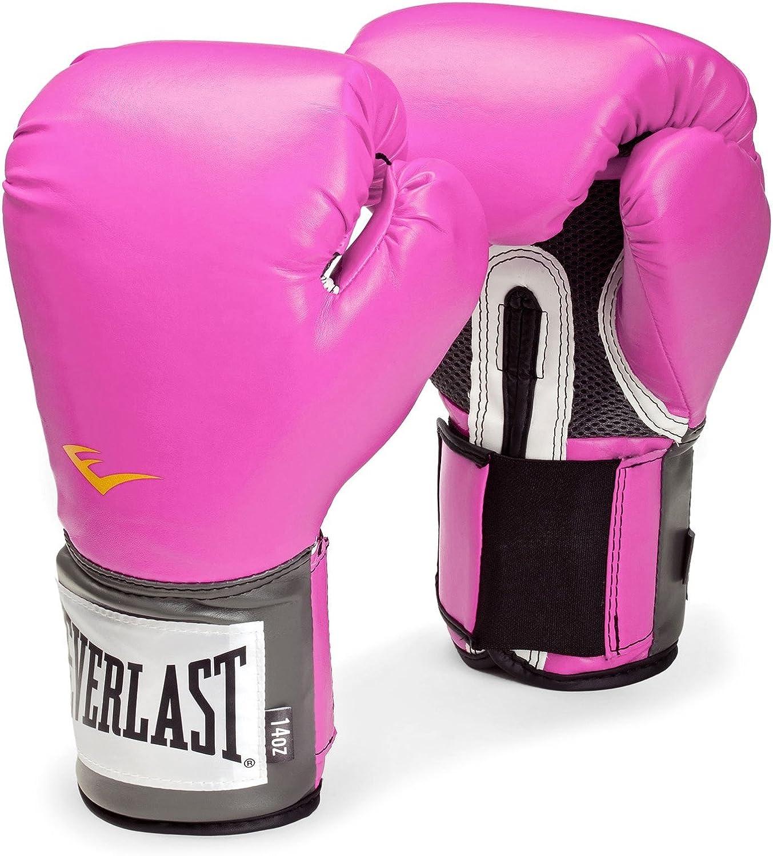 Everlast PU - Guantes de boxeo para mujer rosa rosa Talla:10 Unzen: Amazon.es: Deportes y aire libre