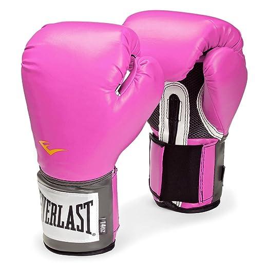 22 opinioni per Everlast Pro Style Women Guanti Boxe da Allenamento, 08 oz, Rosa