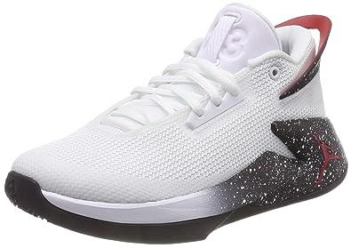 61b034a17bede Jordan Fly Lockdown (GS), Chaussures de Basketball garçon, Multicolore  (White/