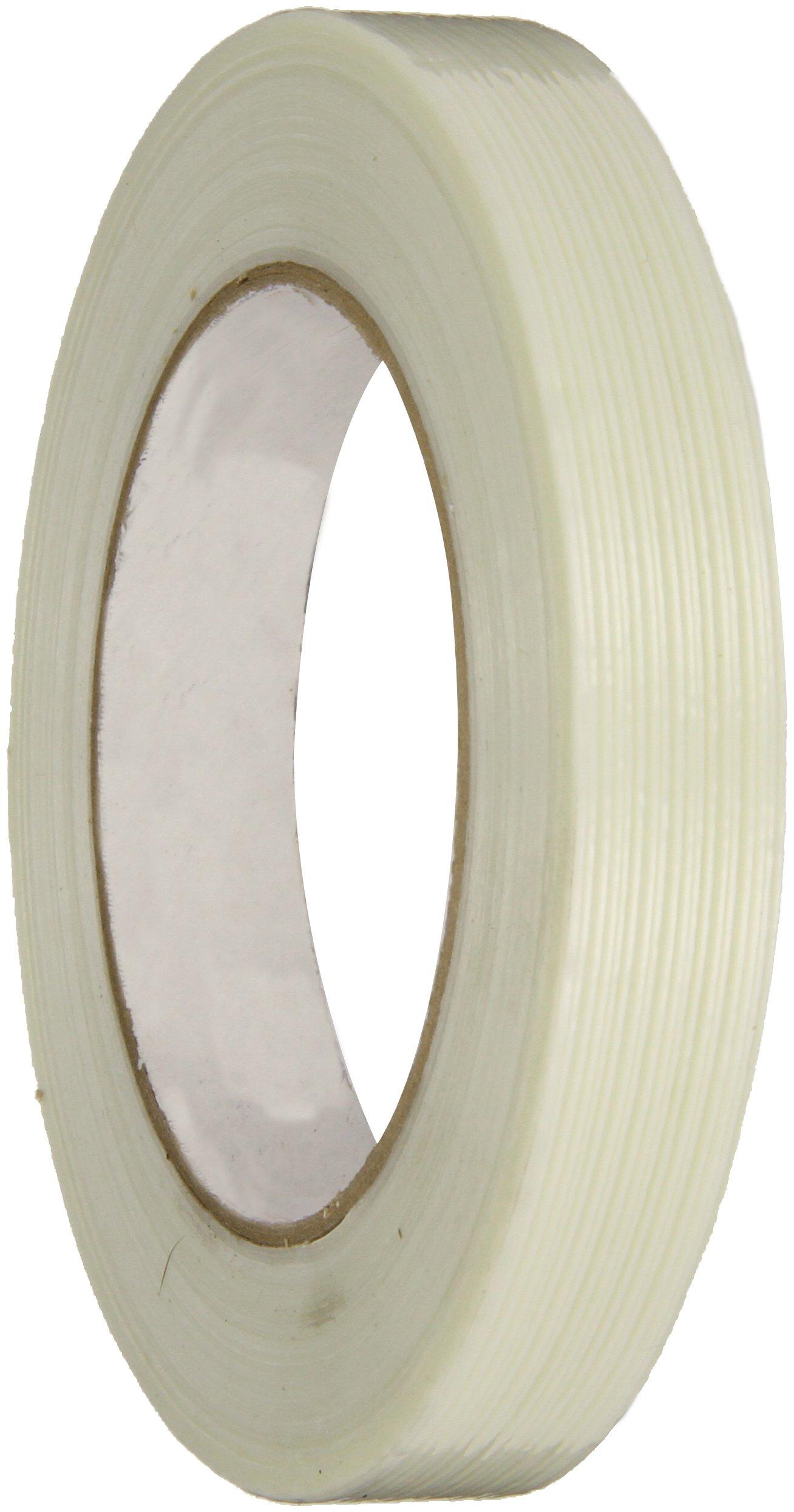 Intertape Polymer Group RG303 130 lbs/in Fiberglass Reinforced BOPP Backed Filament Tape,  18mm x 54.8M, Case of 48 Rolls