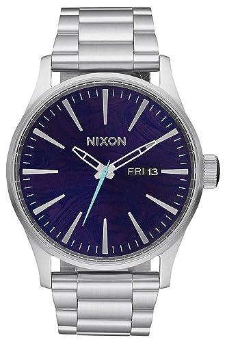 Nixon Unisex Reloj de Pulsera analógico Cuarzo Acero Inoxidable a356230: Amazon.es: Relojes