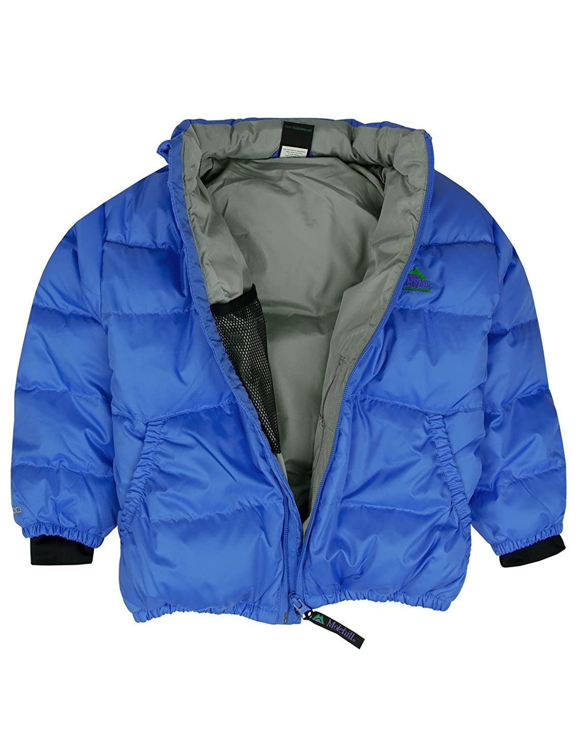 402a8aaf11d7 Amazon.com  Molehill Kids Down Hooded Jacket