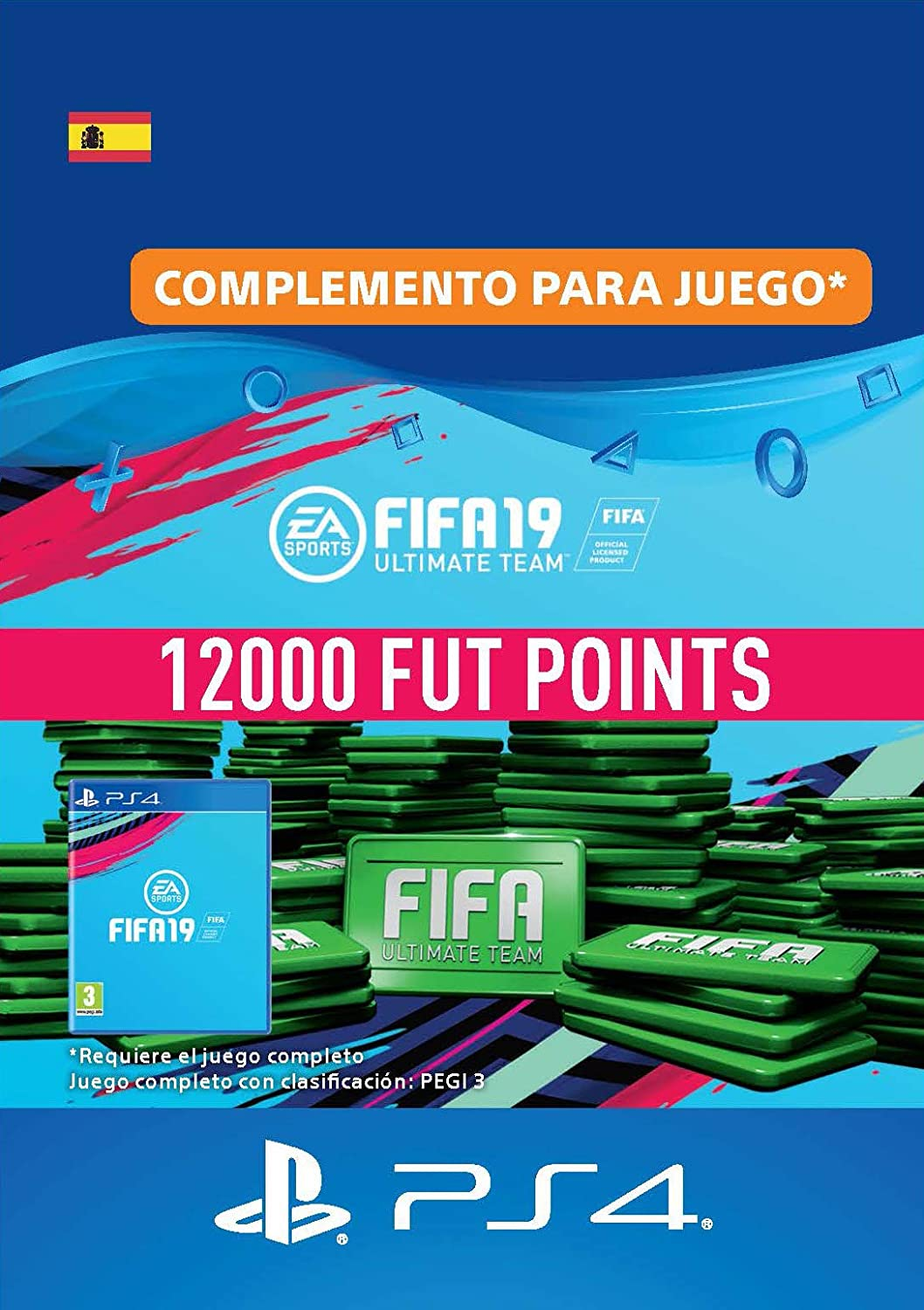FIFA 19 Ultimate Team - 12000 FIFA Points | Código de descarga PS4 ...