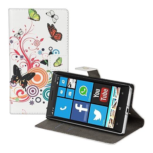 11 opinioni per kwmobile Custodia portafoglio per Nokia Lumia 930- Cover a libro in simil pelle