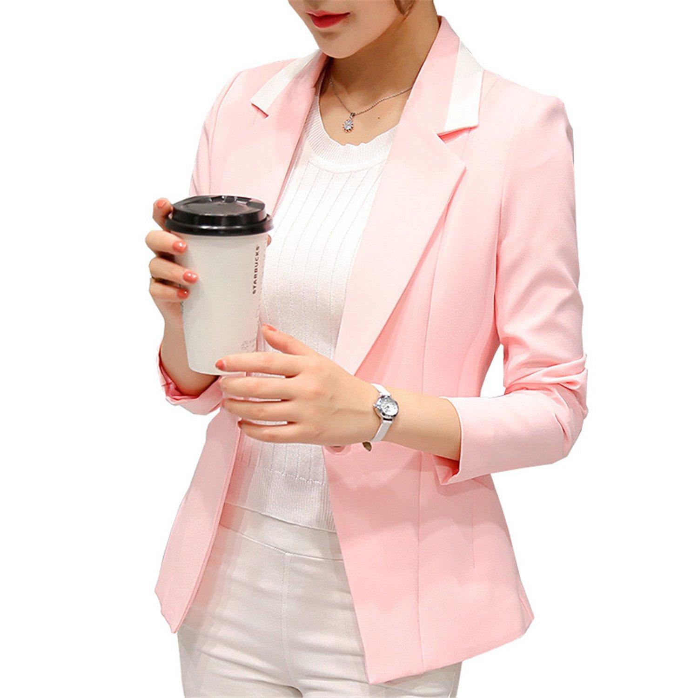 Amazon.com: Robin Santiago nuevas mujeres otoño traje formal ...