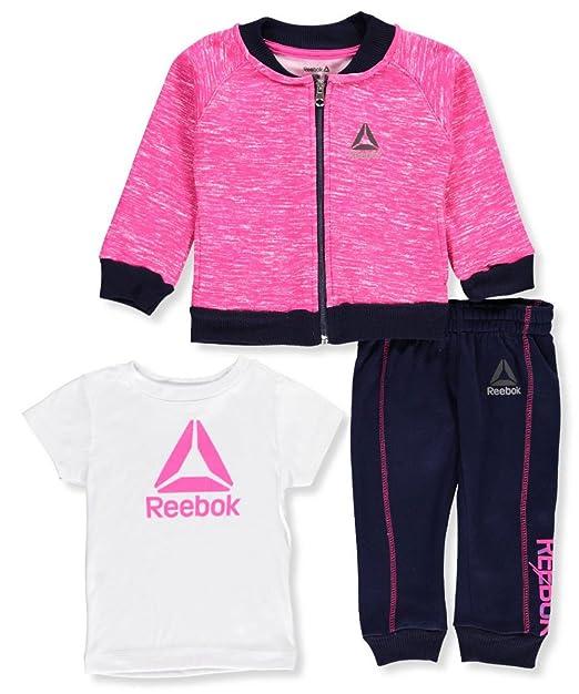 Amazon.com: Reebok bebé niñas Athletic de 2 piezas: Clothing
