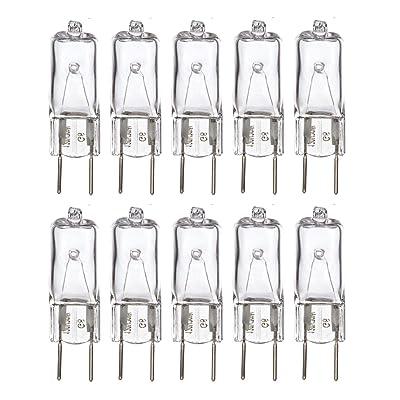 Sterl Lighting Pack of 10 T4 Clear JCD Halogen Light Bulb 40W120V G9 Bi-Pin Base