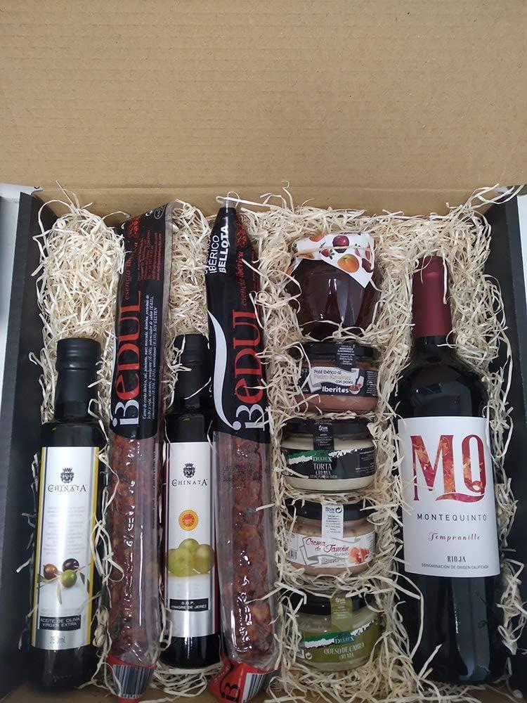 Cesta gourmet regalo ⭐ especial y original ⭐ para salir de lo común, regalo 🎁 cumpleaños o cualquier evento.