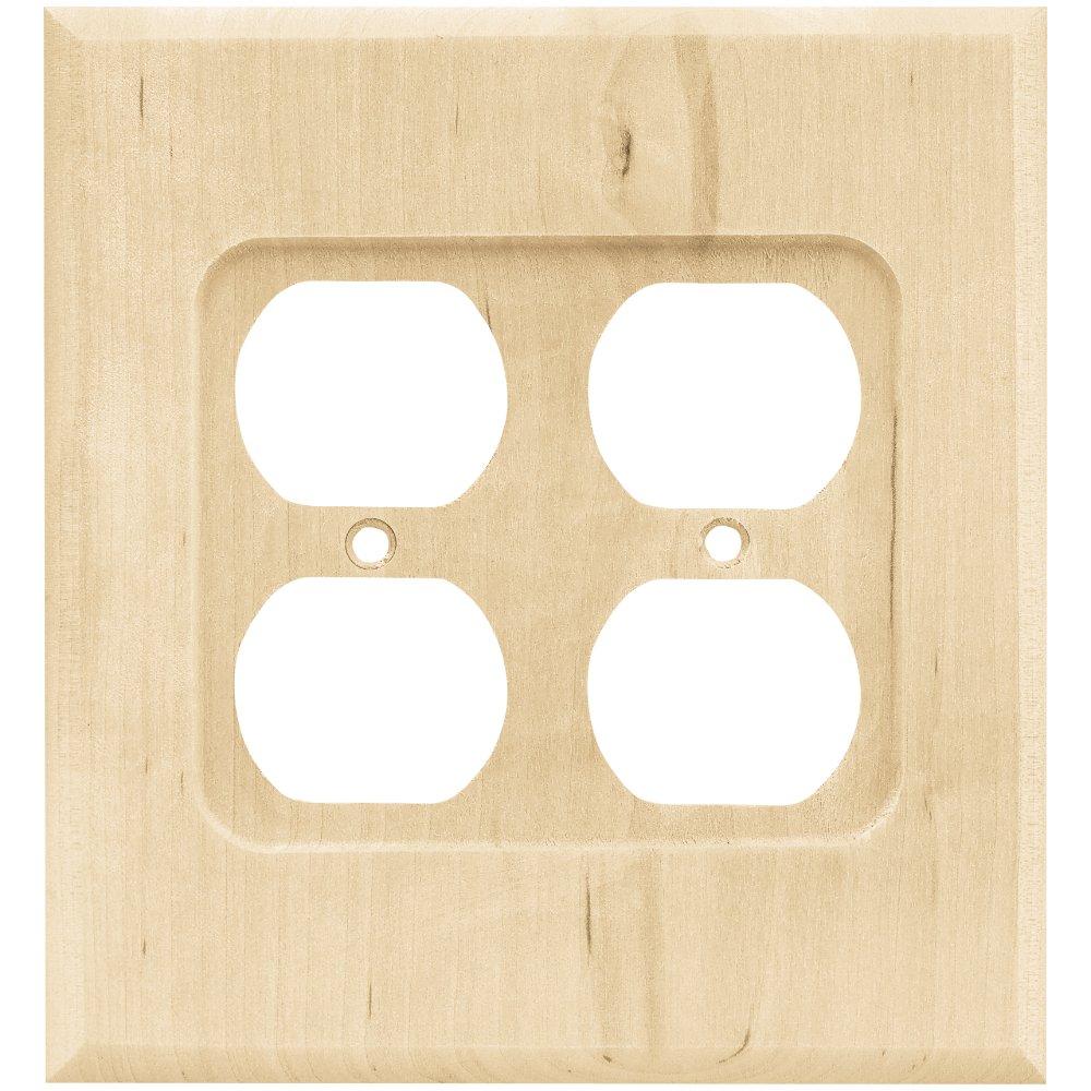 Franklin Brass W10398-UN-C Square Double Duplex Wall Plate/Switch ...