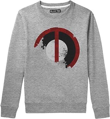 BLAK TEE Hombre Vintage Grunge Logo Camisa De Entrenamiento: Amazon.es: Ropa y accesorios