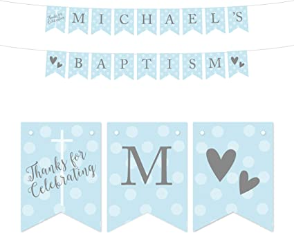 Baptism Personalized Banner