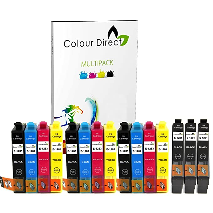 Colour Direct 15 XL Cartucho de Tinta para Epson Stylus S22 SX125 ...
