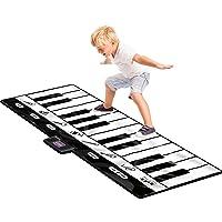 Click N' Play Gigantic Keyboard Play Mat, 24 Keys Piano Mat, 8 Selectable Musical...
