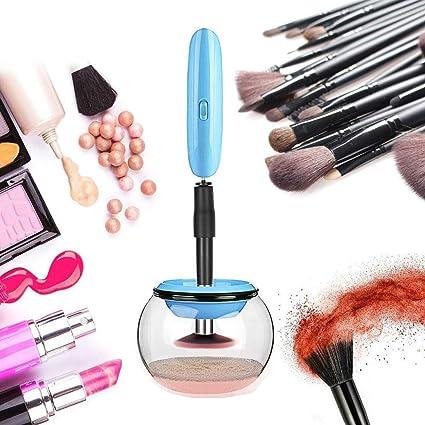 AOLVO maquillaje cepillo limpiador y lavadora, portátil ...