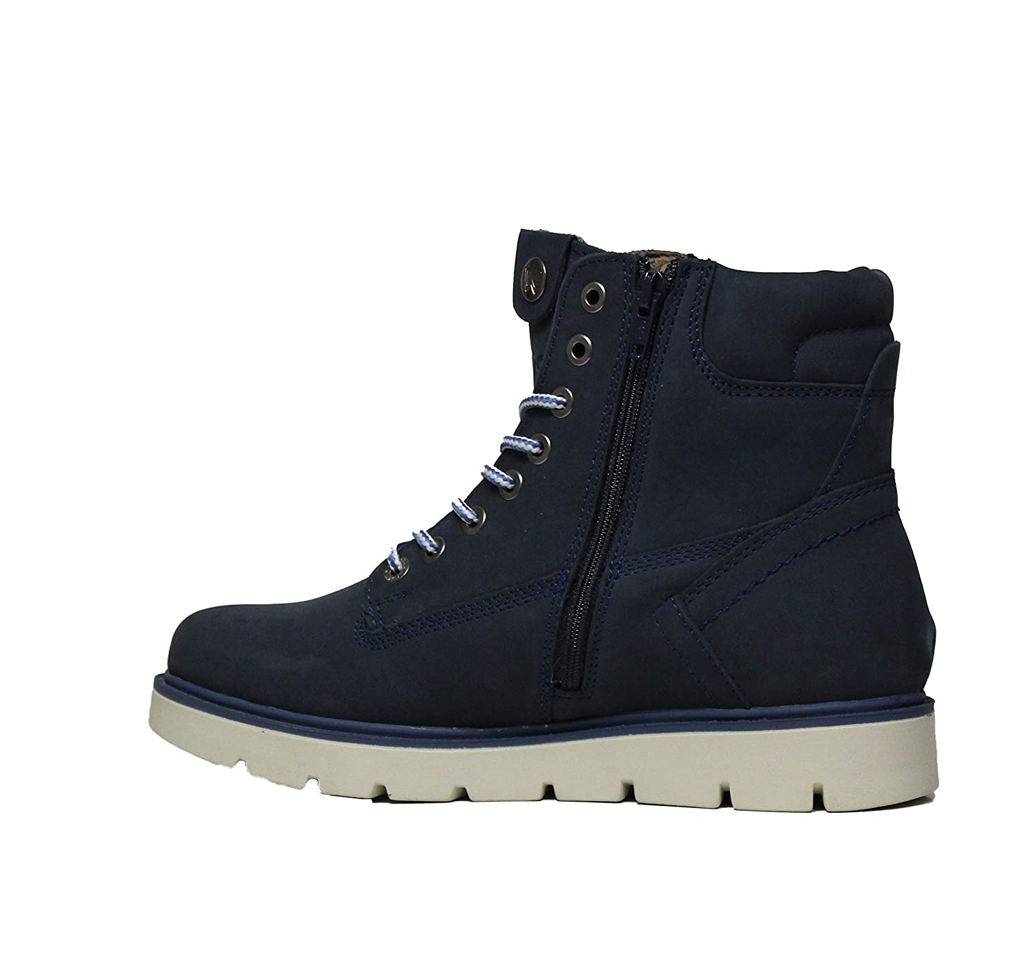 Wrangler WL182510 Tucson Lady Nubuck Jeans Womens Ankle Boot in Suede Jeans Color Size