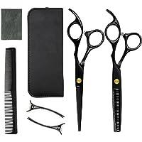 Rairsky Professionele kappersschaar, haarschaar van roestvrij staal, kam en clips voor kappers en huishouden, 7 stuks