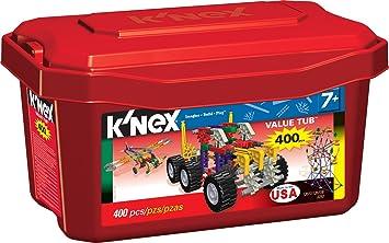 KNex Tomy 3253 Caja de juego de construcción (400 piezas, para mayores