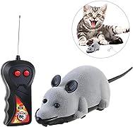 Regala divertenti momenti di caccia al tuo gatto con questo topolino radiocomandato!