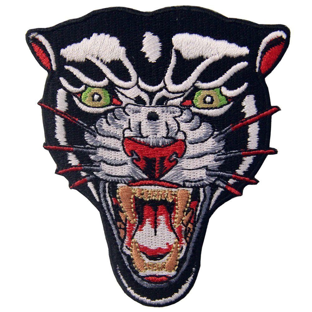 The Roaring Bengal Striped Tiger Embroidered Badge Iron On Sew On Patch ZEGIN 4337020633