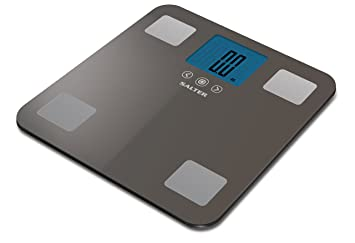 Salter Max - Báscula de baño analizadora, 250 kg, color gris