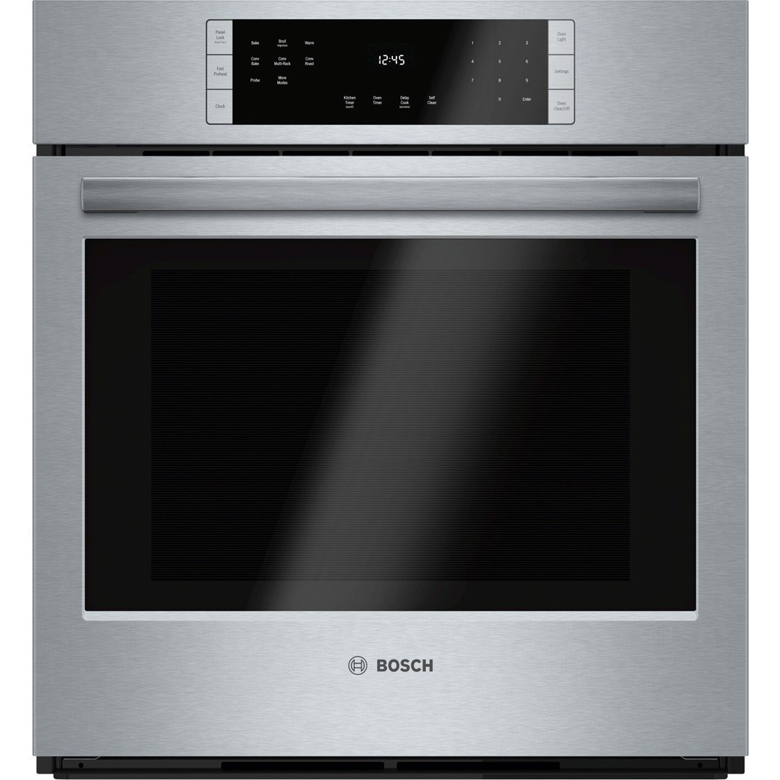Bosch HBN8451UC 800 27 Stainless Steel Electric Single Wall Oven Convection
