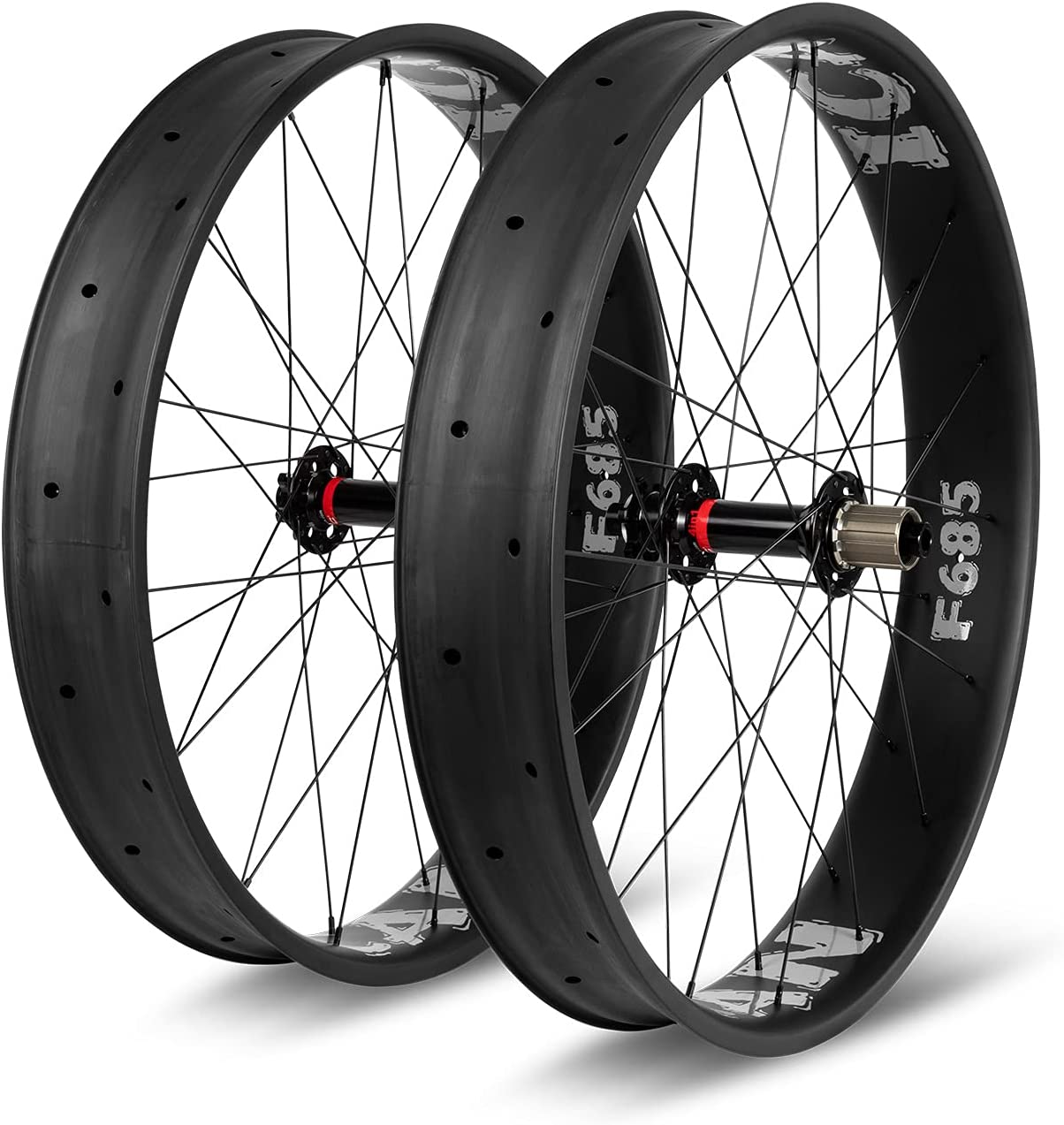 ICAN 26er Fat Bike Carbon Wheelset Snow 90mm New mail order Wheel Width Max 67% OFF Bicycle
