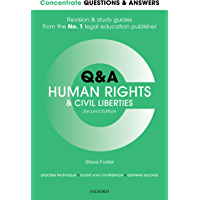 Concentrate Questions and Answers Human Rights and Civil Liberties: Law Q&A Revision and Study Guide (Concentrate Questions & Answers Book 1)