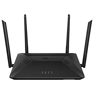 D-Link AC1750 Wifi Router, Gigabit Router for 4K Streaming and Gaming, Smart Dual Band, MU-Mimo, Powerful Dual Core Processor, Parental CONTROLS & Qos (DIR-867-US)
