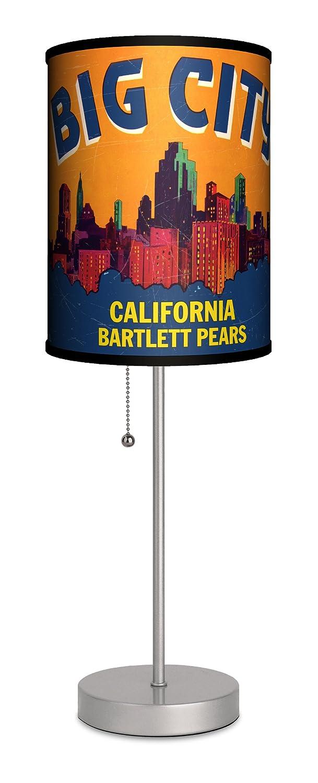 Lamp-In-A-Box SPS-VLB-BIGCIBig City Sport Silver Lamp