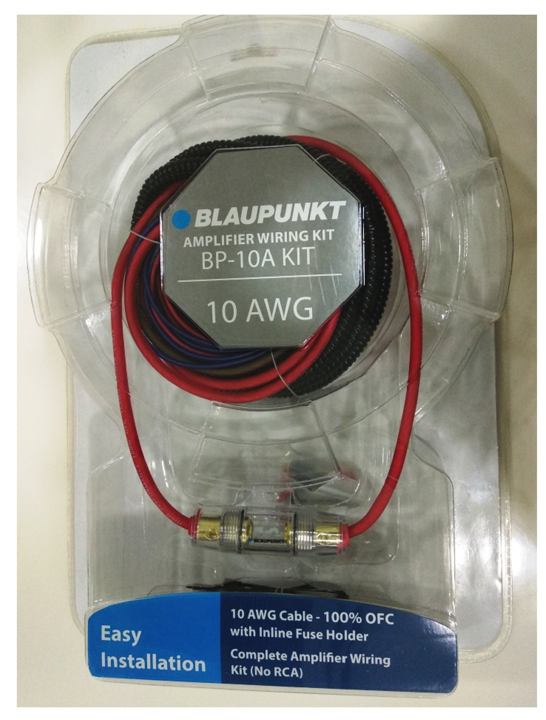 Blaupunkt BP-10A 10 Gauge Amplifier Wiring Kit (100% OFC)