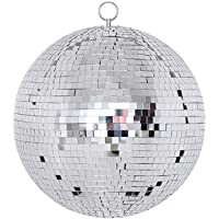 """NuLink 6"""" Disco Light Mirror Ball with Hanging Ring"""