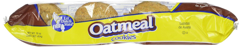 Amazon.com: Little Dutch Maid Oatmeal Cookies, 16 Ounce