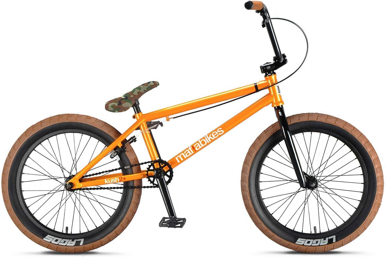for BMX Bike Frames Mafiabikes Long Seat Post 25.4mm Diameter BLACK