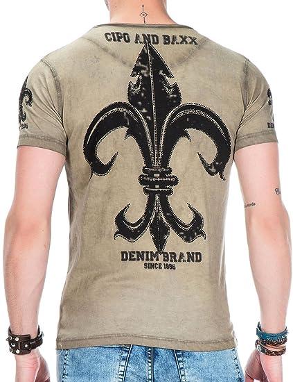 Men s Fashion T-Shirts Streetwear Fancy Premium Anthracite CT446 ... e7999bd6c